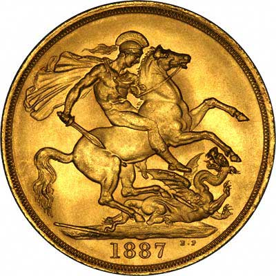 Victoria Jubilee £2 Gold Coin Reverse