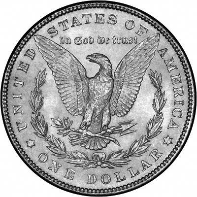 1887 American Silver Dollars Morgan Type