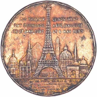 Eiffel Tower Medallion