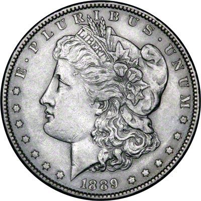 1889 American Silver Dollars Morgan Type