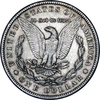 1890 American Silver Dollars Morgan Type