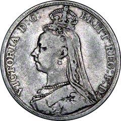 Jubilee Head Crown of 1887