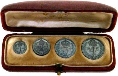 1897 Maundy Set in Presentation Box
