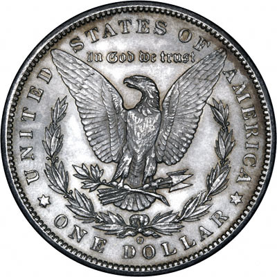 1899 American Silver Dollars Morgan Type
