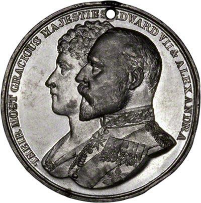 Obverse of 1902 Coronation Medallion