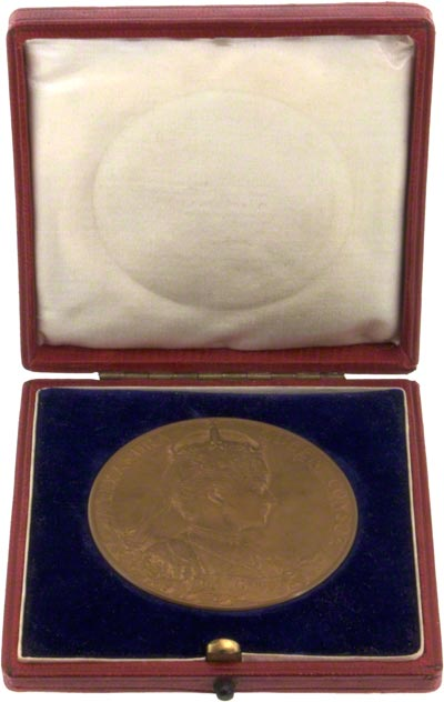 1902 Coronation Medallion in Presentation Box