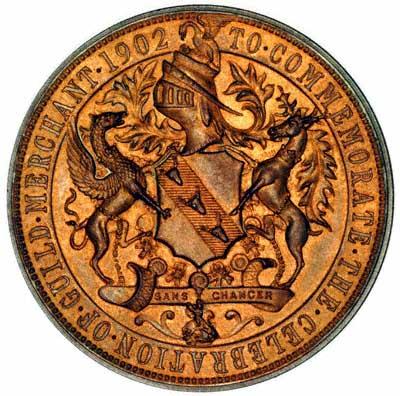 Preston Guild 1902 Medallion