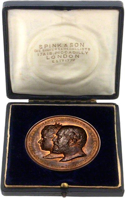 1902 Preston Guild Medallion in Presentation Box