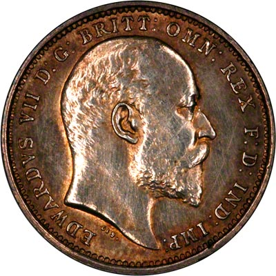 Obverse of 1904 Maundy Fourpence