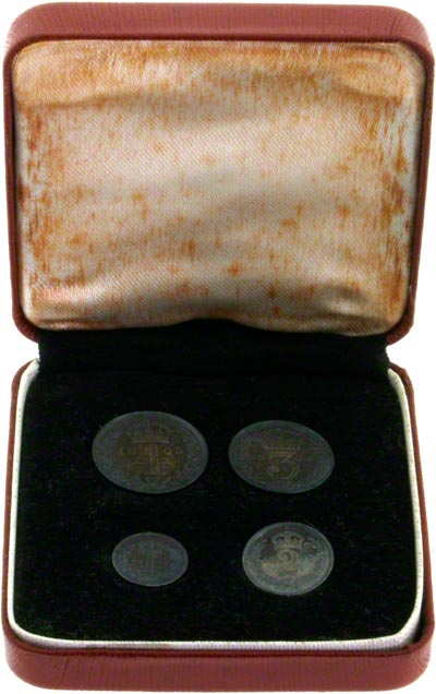 1905 Maundy Set in RedPresentation Box