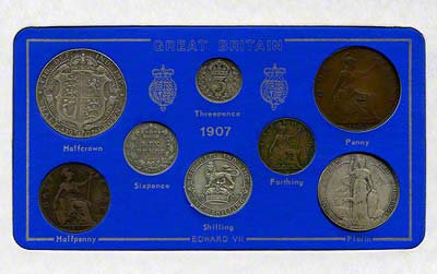 1907 Selected Coin Set in Presentation Card