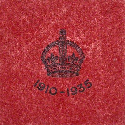 1911 Coronation Medallion Presentation Box