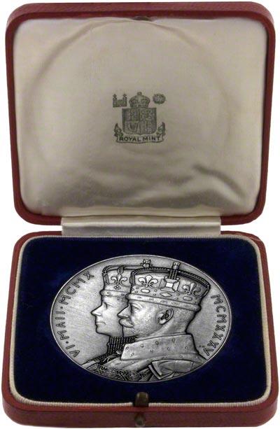 1935 Silver Jubilee Medallion in Presentation Box