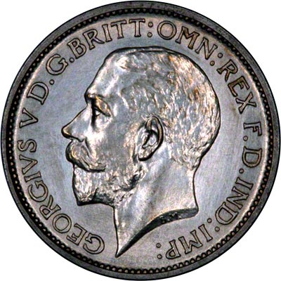 Obverse of 1911 Maundy Fourpence