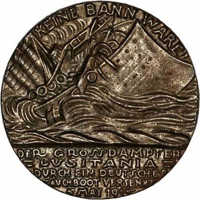 Lusitania Medallion