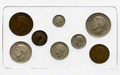 1916 British £SD Coin Sets