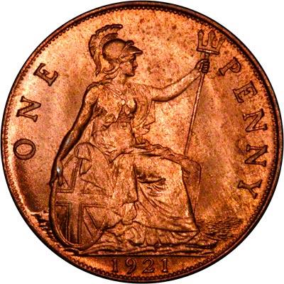 1921 Pennies