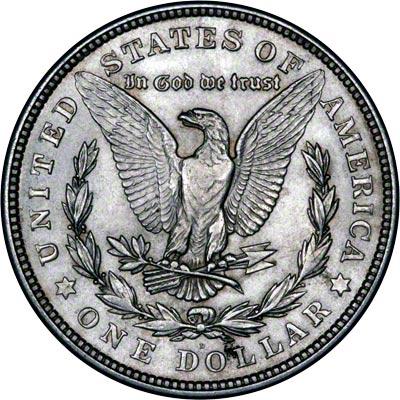 1921 American Silver Dollars Morgan Type