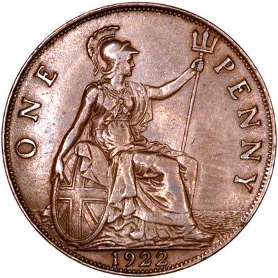 1922 Pennies