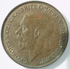 Modified Obverse on 1927 Penny