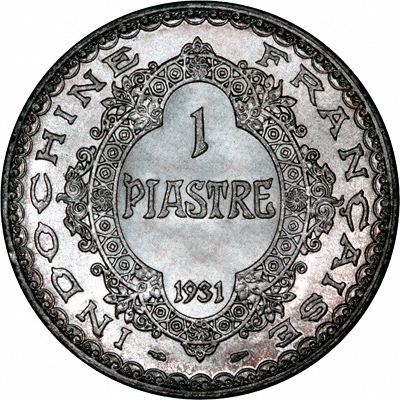 Reverse of 1993 French 1 Franc 50th Anniversary of D-Day Landings