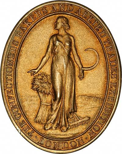 Obverse of 1931 Gold Medallion