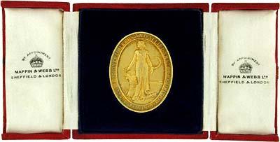 1931 Gold Medallion in Presentation Box