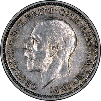 3 pence coin 1931 value -