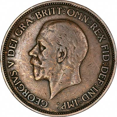 Obverse of Pseudo 1933 Penny