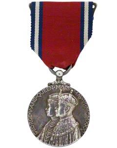 1935 George V Jubilee Medal