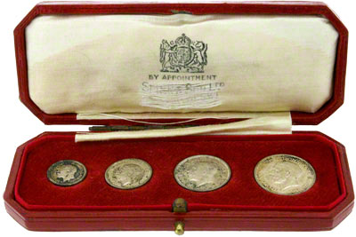 1936 Maundy Set in Presentation Box