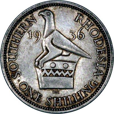 Reverse of 1936 Shilling