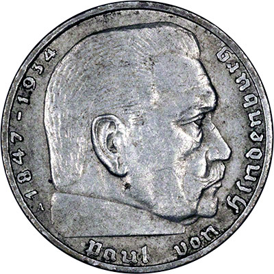 Coins of the Third Reich, Nazi Germany