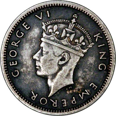Obverse of 1946 Sixpence