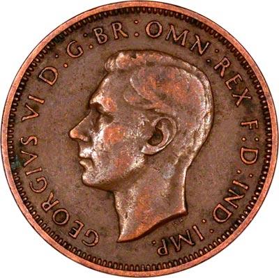 1948 half penny coin value