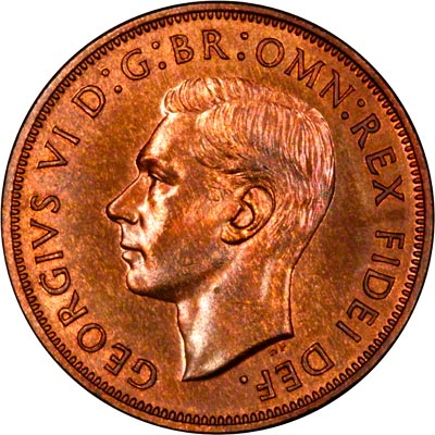 Obverse of 1950 Penny