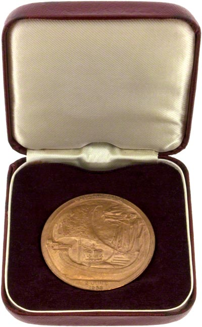 1953 Coronation Medallion in Presentation Box
