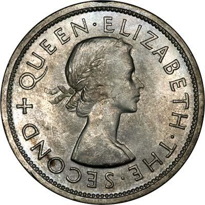 Obverse of 1953 Crown