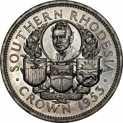 Reverse of 1953 Crown