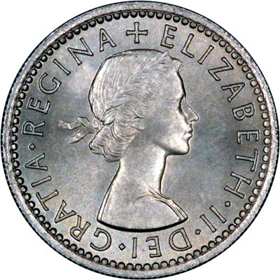 1954 sixpence coin worth