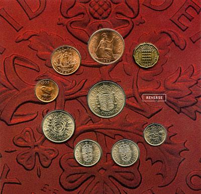 Reverse of Pre Decimal Coins