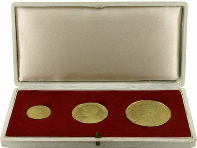 1963 Kennedy Gold Medallions Complete Set