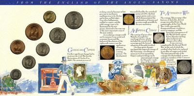 Obverse of Pre Decimal Coins