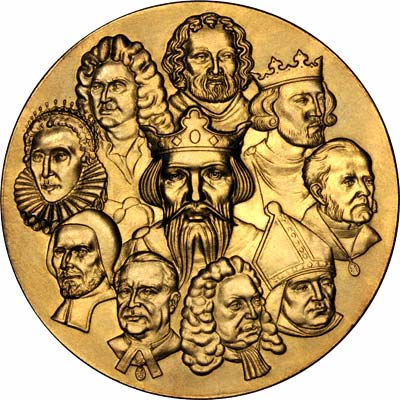 Obverse of Medallion for the 900th Anniversary of the Westminster Abbey