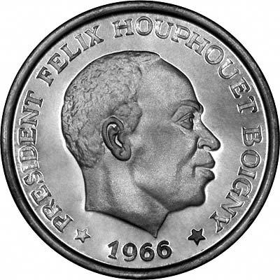 Ivory Coast (Côte d'Ivoire) Coins - Brief History