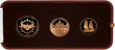 Complete Set of 1966 Medallions in Presentation Box