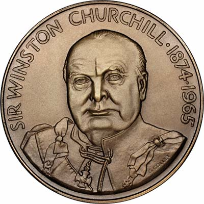 Obverse of 1967 Houses of Parliament Bronze Medallion