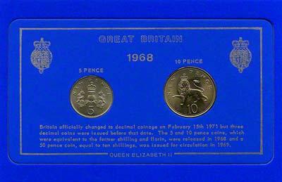 1968 uk coin set