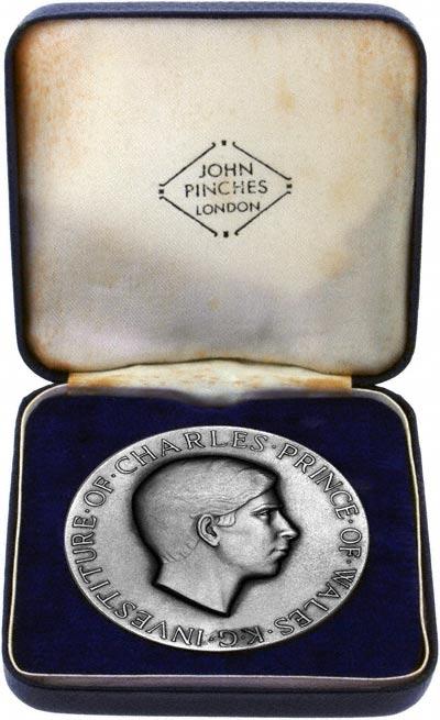 1969 Investiture Medallion in Presentation Box