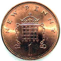 First Decimal Issue of Penny